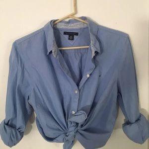 Tommy Hilfiger Women's Button Up Blouse